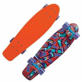 Spike Orange Complete Skateboard 22''
