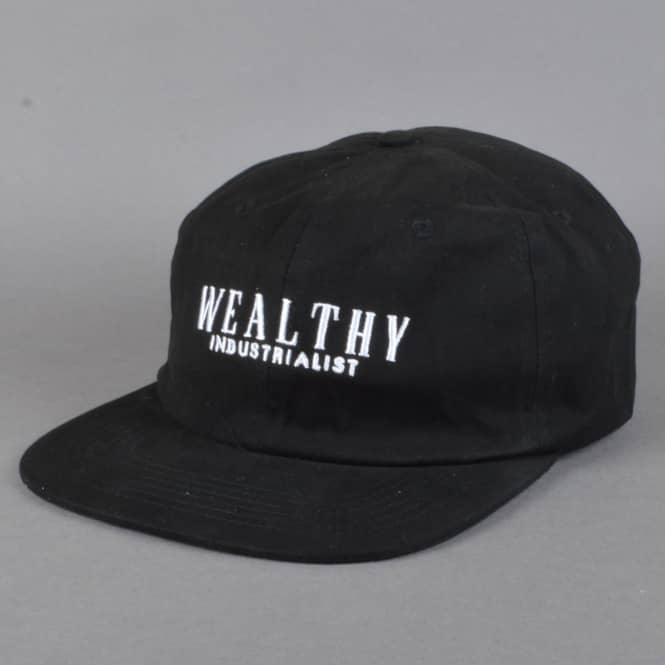 Theories of Atlantis Pennypacker Snapback Cap - Black