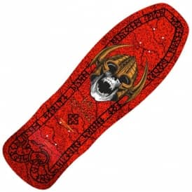 Per Wellinder Nordic Skull Red Reissue Skateboard Deck - 9.715