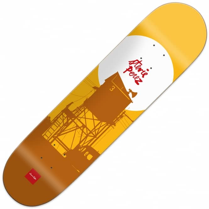 Chocolate Skateboards Perez Crail Classic Sun Series Skateboard Deck 8.375