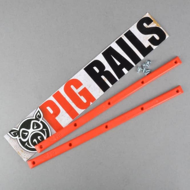 Pig Wheels Pig Rails - Red