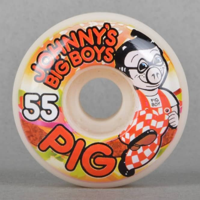 Pig Wheels Layton Johnny's Big Boys Skateboard Wheels 55mm