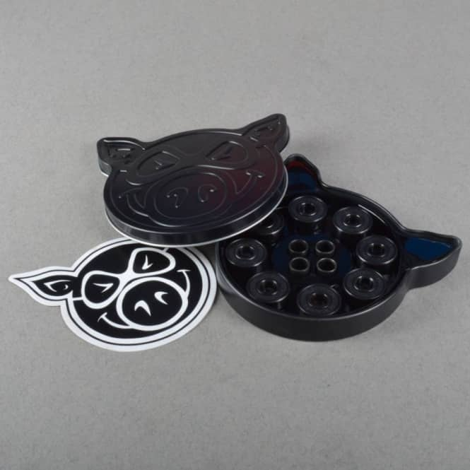 Pig Wheels Pig Black Ops Skateboard Bearings