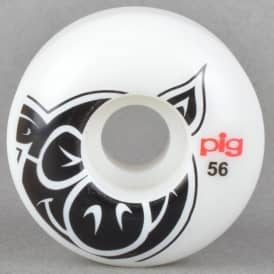Pig Wheels Pig Head Naturals Skateboard Wheels 56mm