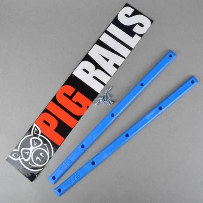 Pig Wheels Pig Wheels Pig Rails - Blue
