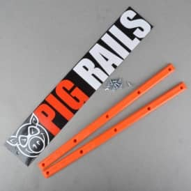 Pig Wheels Pig Rails - Orange