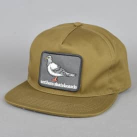 Pigeon Patch Snapback Cap - Olive