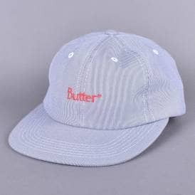 Pincord 6 Panel Cap - Navy Sale. Butter Goods ... bd4aff900b2c