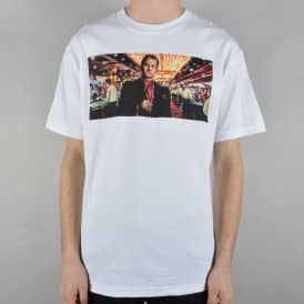 Pit Boss Skate T-Shirt - White