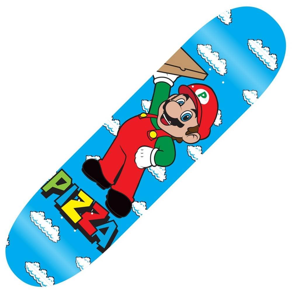 Pizza Skateboards Mario Skateboard Deck 8.375