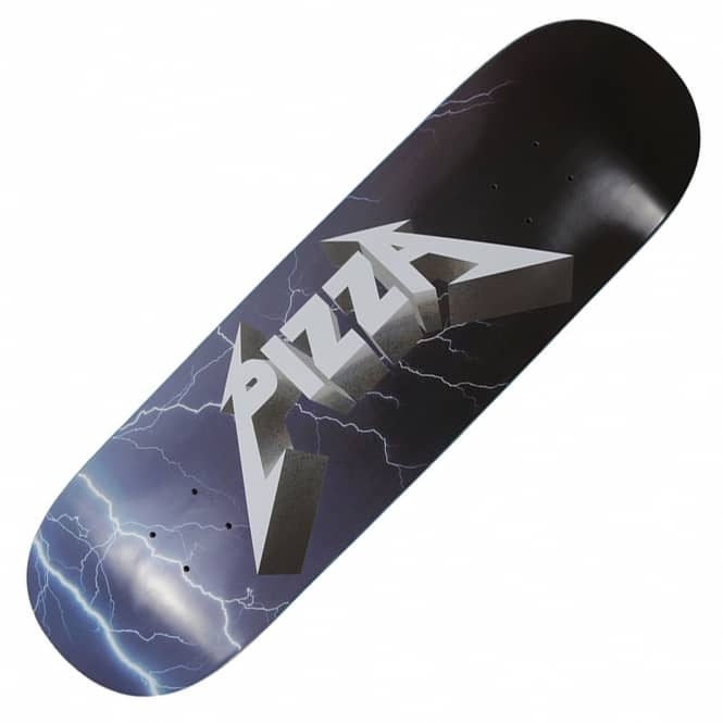 Pizza Skateboards Metal Skateboard Deck 8.5""