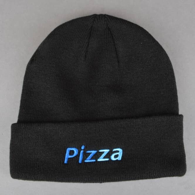Pizza Skateboards Piz Pal Beanie - Black