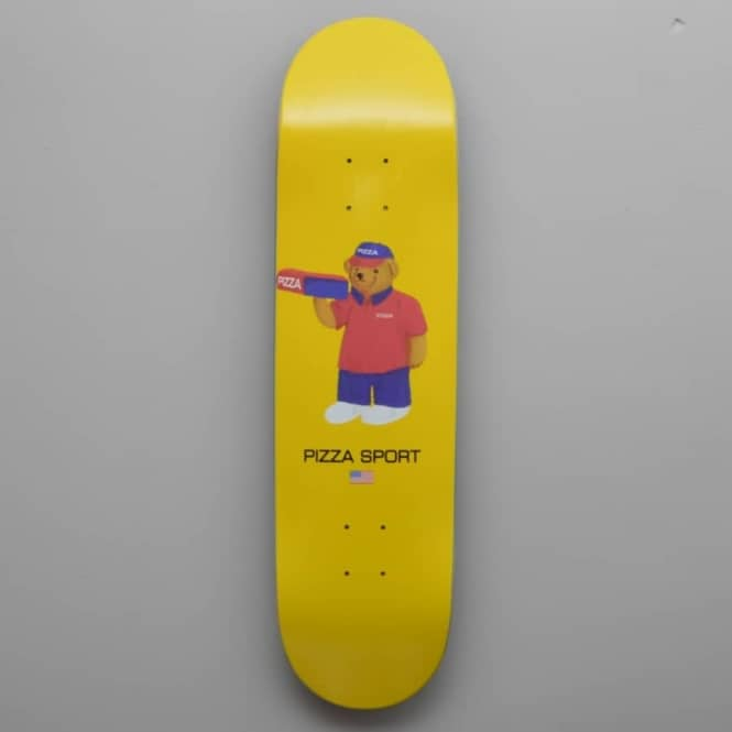 Pizza Skateboards Pizza Bear Skateboard Deck 8.25