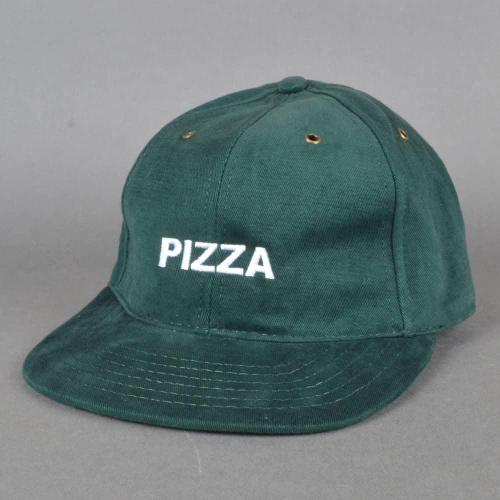 Pizza Skateboards Pizza Skateboards Pizza Strapback Cap - Forest Green febf2477bb6