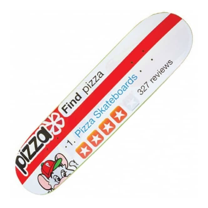 Pizza Skateboards Review Skateboard Deck 8.125