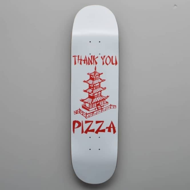 Pizza Skateboards Thank You Pizza Skateboard Deck 8.5
