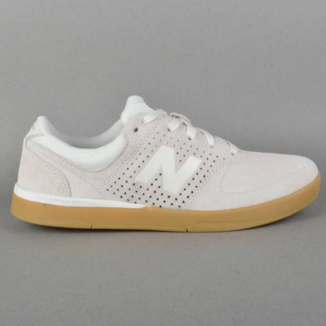 71d0564449f2 New Balance Numeric PJ Stratford 533 Skate Shoes - Cream Suede ...