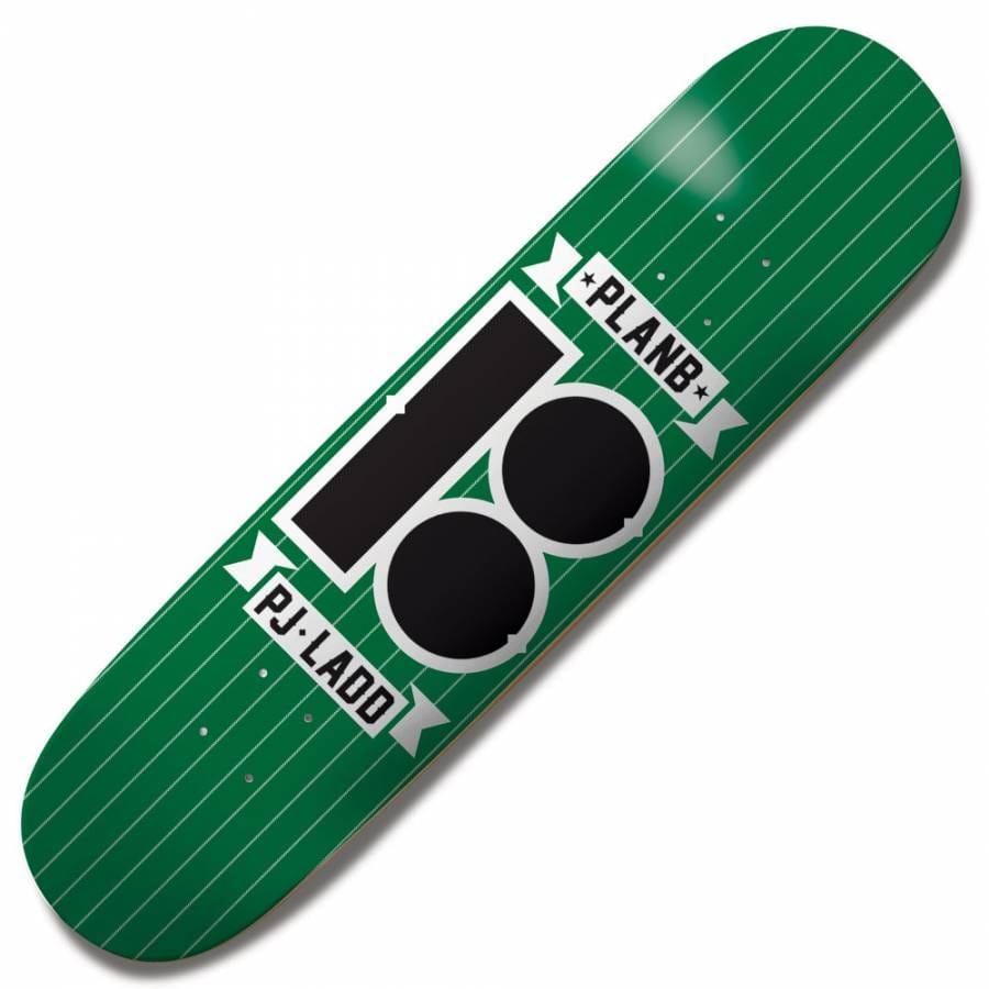 Plan B Skateboards Plan B PJ Ladd Pinstripe Skateboard ...