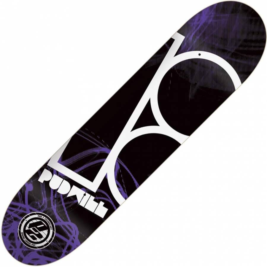 Plan B Skateboards Plan B Pudwill Control Skateboard Deck ...