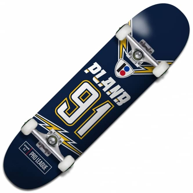 Plan B Skateboards Charged Complete Skateboard 8.0