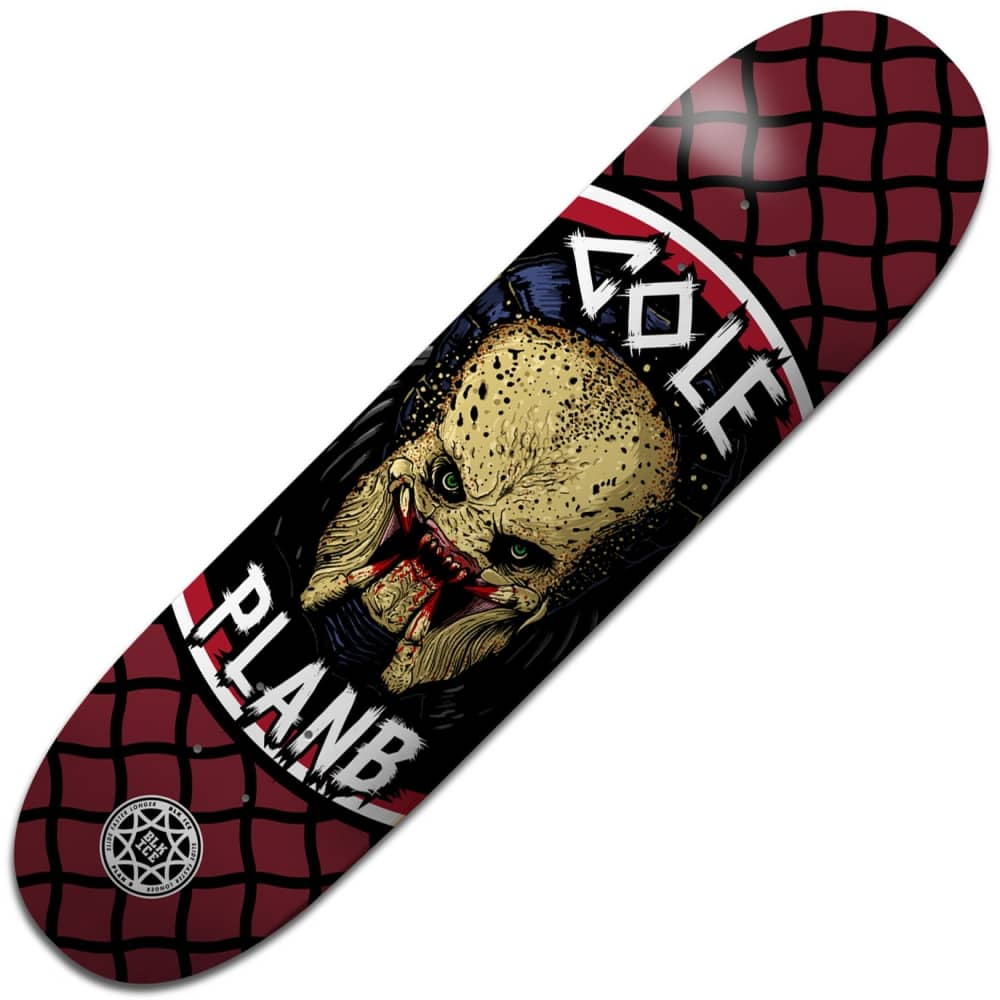 Plan b skateboards cole savages black ice skateboard deck 85 cole savages black ice skateboard deck 85quot baanklon Gallery
