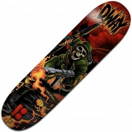 Plan B Skateboards Danny Way NP3 Black Ice Skateboard Deck 8.625""