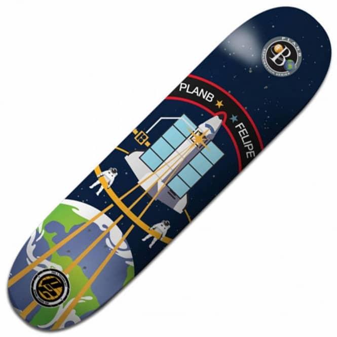 Plan B Skateboards Felipe Exploration P2 Skateboard Deck 8 ...