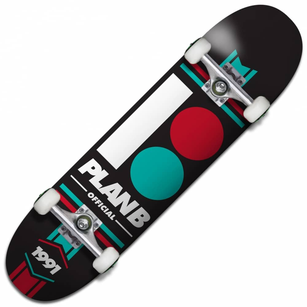 Plan B Skateboards Official Complete Skateboard 8.0 ...