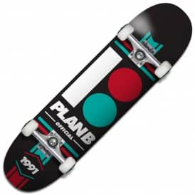 Plan B Skateboards Official Complete Skateboard 8.0""
