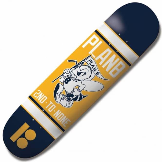 Plan B Skateboards Plan B Bee Logo Mini Skateboard Deck 7 ...