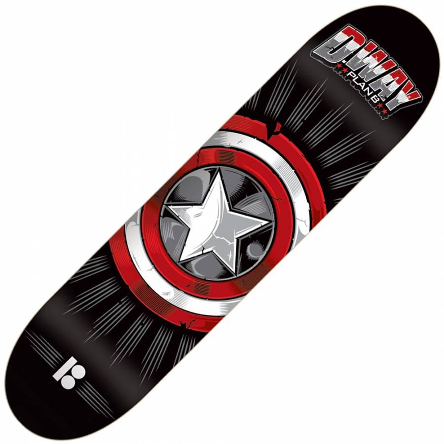 Plan B Skateboards Plan B Danny Way Captain Black ...