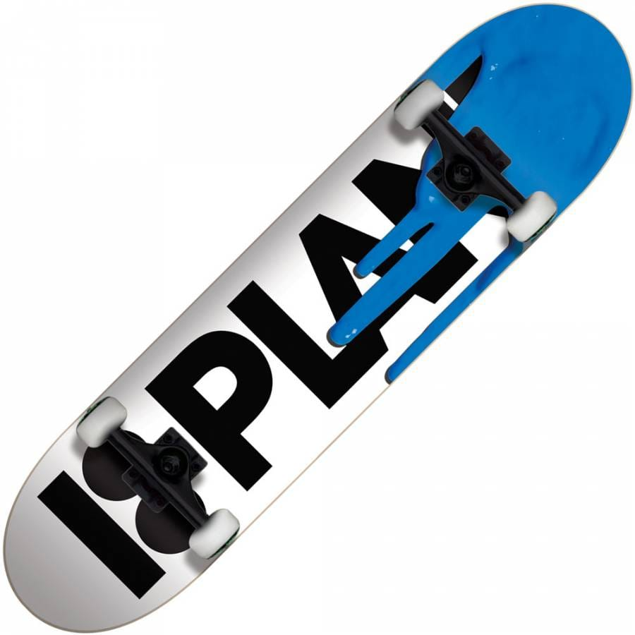 Plan B Skateboards Plan B Drips Blue Complete Skateboard ...