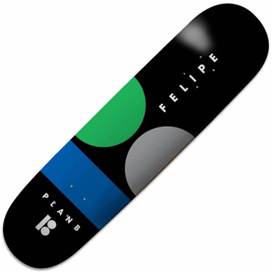 Plan B Skateboards Plan B Felipe Gustavo Cropped ProSpec ...