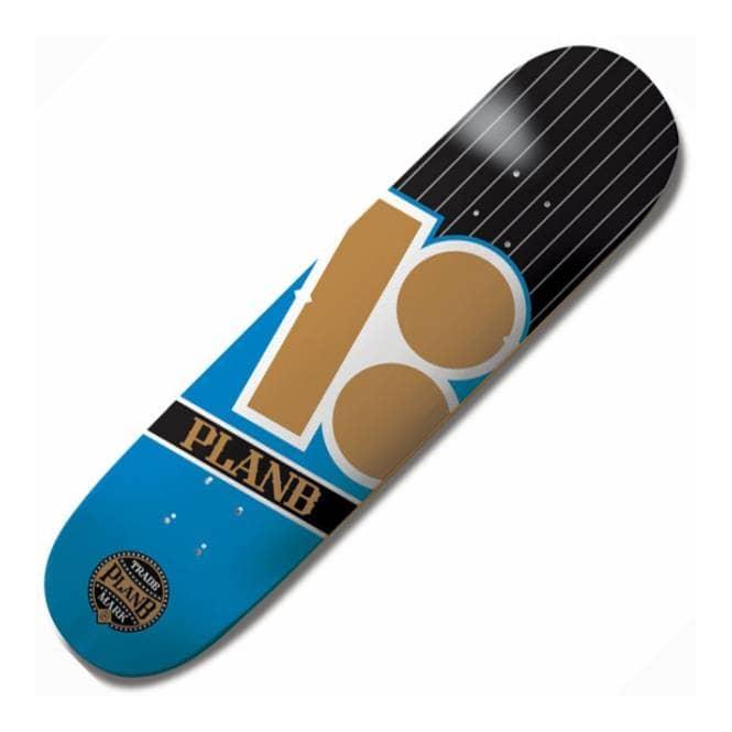 Plan B Skateboards Plan B Team Capital Skateboard Deck 8.0 ...