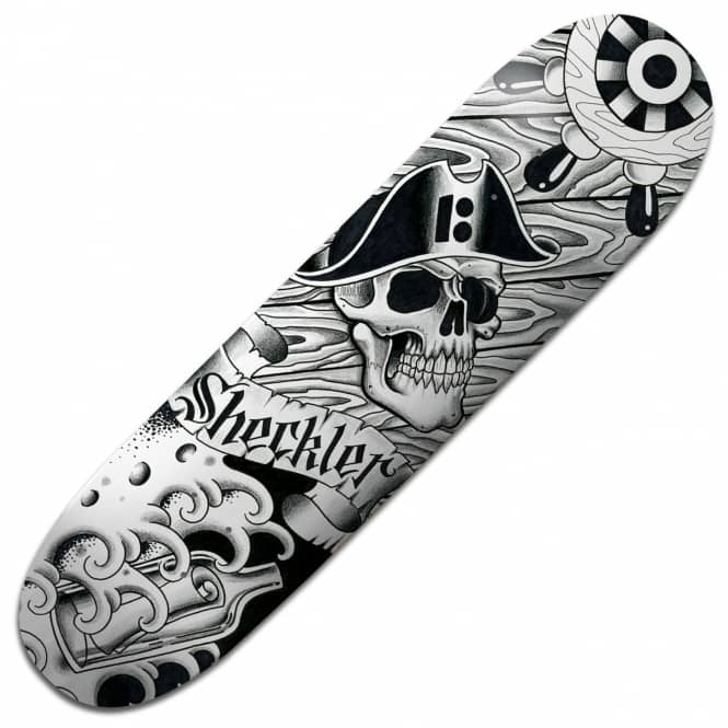 Plan B Skateboards Sheckler Aces BLK ICE Skateboard Deck 8.25