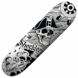 Plan B Skateboards Sheckler Aces BLK ICE Skateboard Deck 8.25""