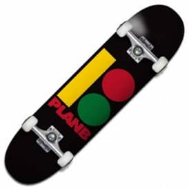 Plan B Skateboards Team B Rasta Complete Skateboard 8.0""