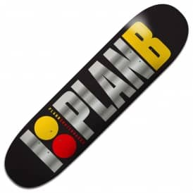 Plan B Skateboards Team OG BLK ICE Skateboard Deck 8.25""