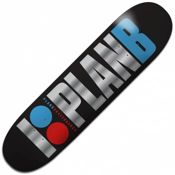 Plan B Skateboards Team OG Foil Skateboard Deck 8.0