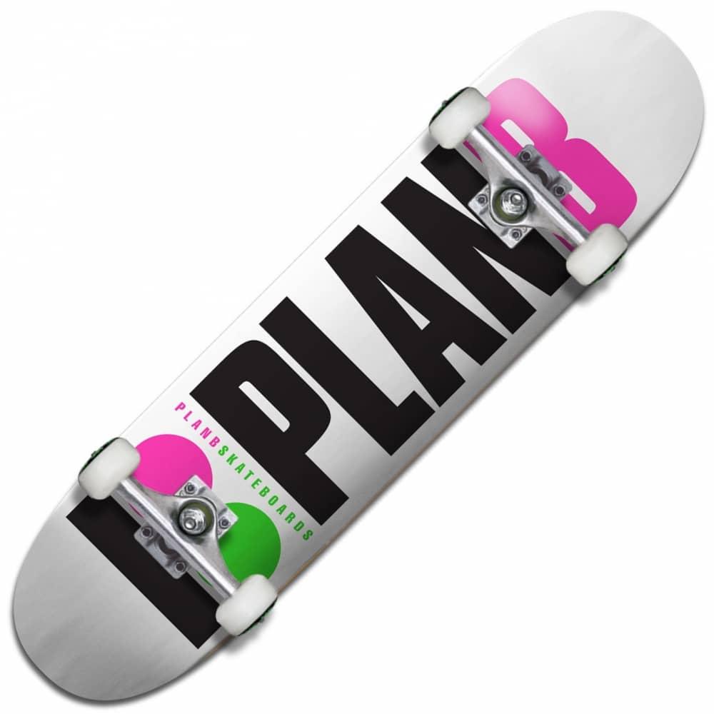 Plan B Skateboards Team OG Neon Complete Skateboard 7.75