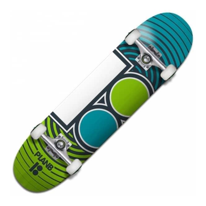 Plan B Skateboards Team Rings Complete Skateboard 7.75 ...