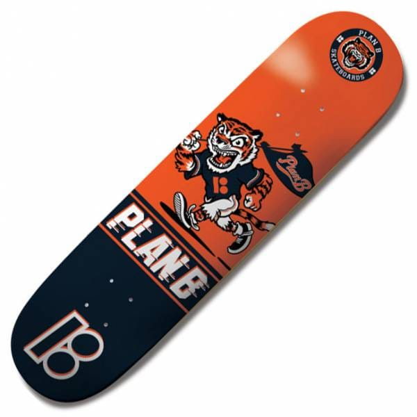 Plan B Skateboards Plan B Team Tiger Mini Skateboard Deck ...