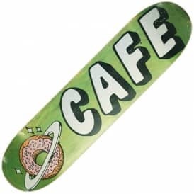 Planet Donut Green Stain Skateboard Deck 8.0
