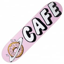 Planet Donut Pink Skateboard Deck 8.25