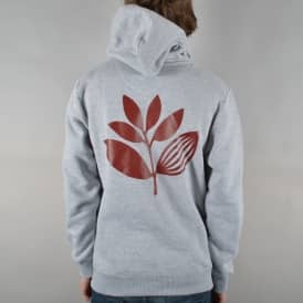 Plant Pullover Hoodie - Light Heather Grey