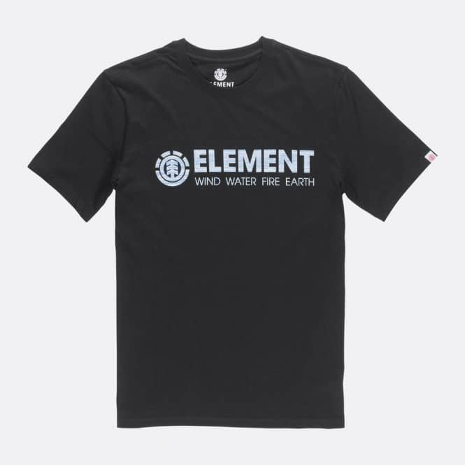 Element Skateboards Plys Boy Youth Skate T-Shirt - Flint Black