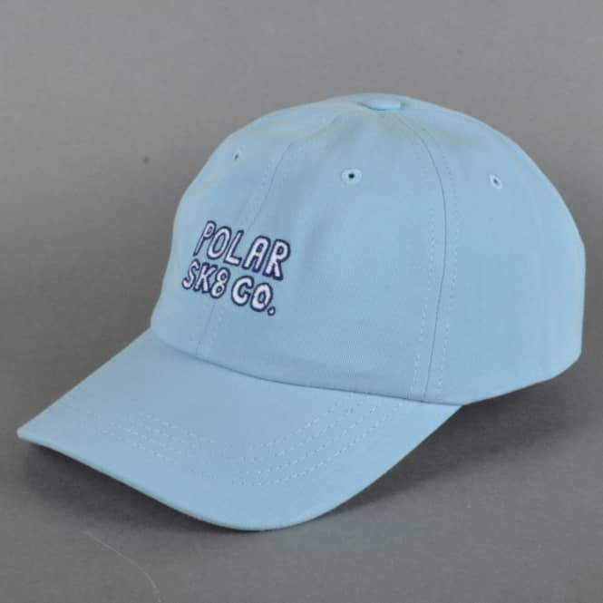 Polar Skateboards Polar Sk8 Co. Strapback Cap - Powder Blue