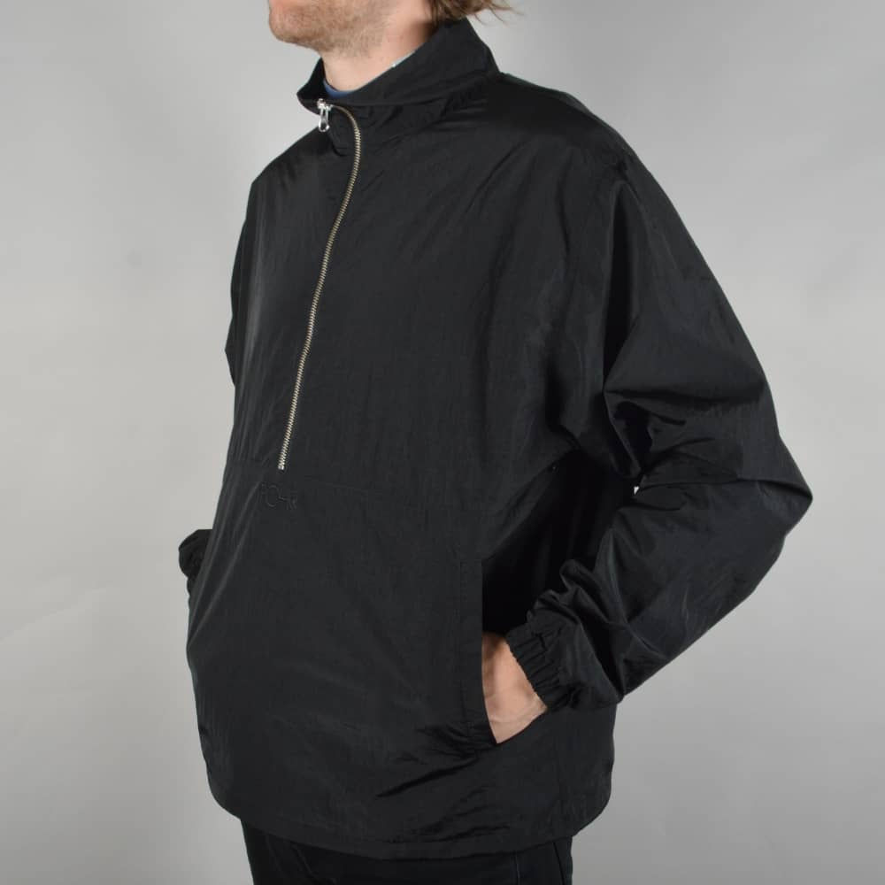 Polar Skateboards Anorak Jacket Black