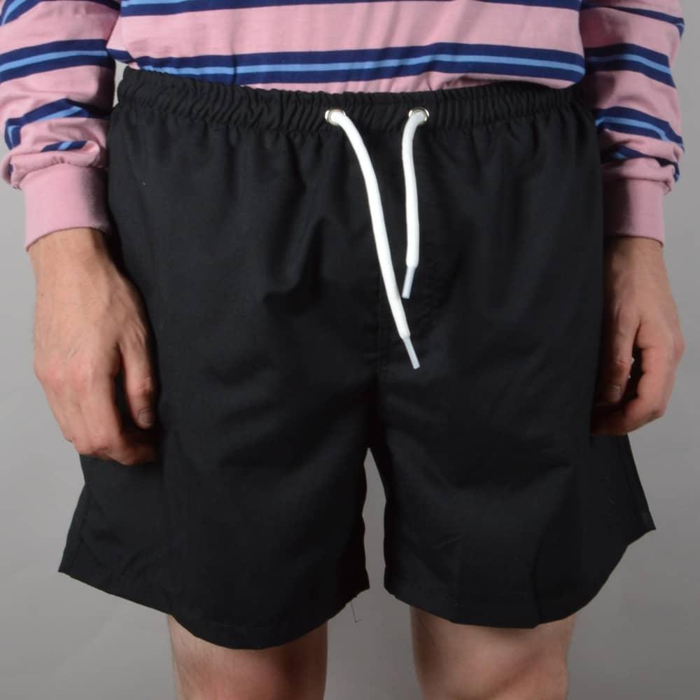 1ddacae5c41cb Polar Skateboards Beach Shorts - Black - SKATE CLOTHING from Native ...