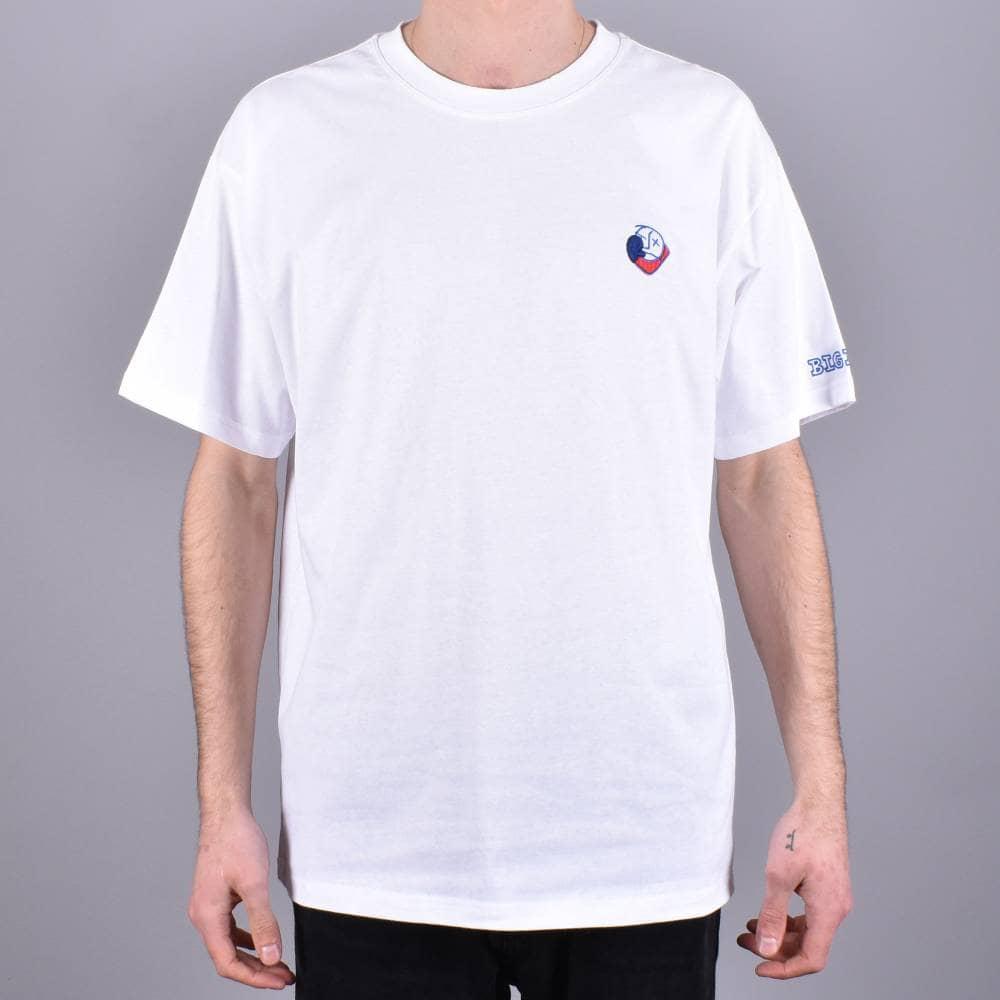d454487b0a Polar Skateboards Big Boy Skate T-Shirt - White